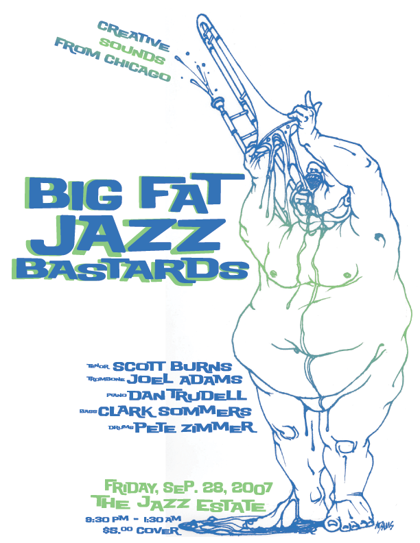 Event Poster :: Big Fat Jazz Bastards