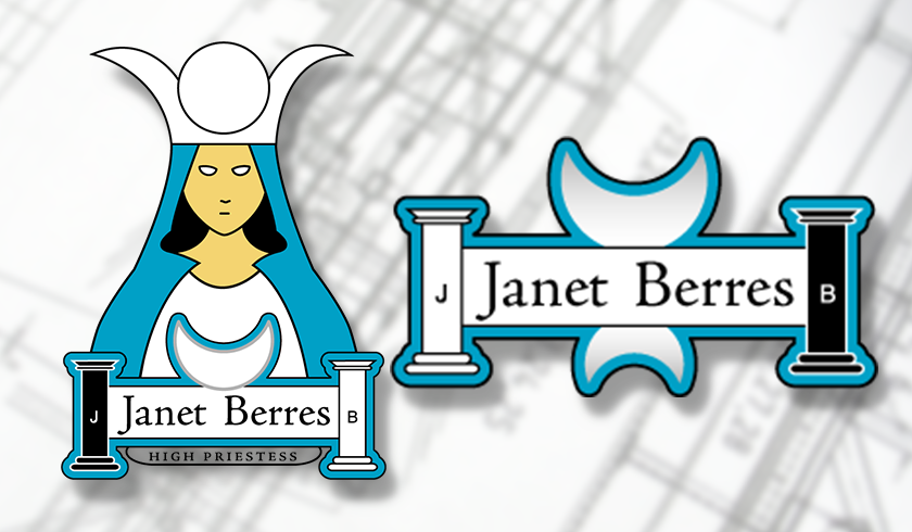 Logo for Janet Berres, Tarot Collector