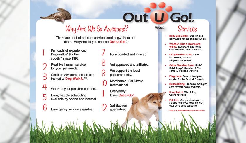 Out-U-Go! Brochure Interior