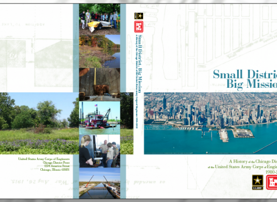 USACE Chicago District - History Book Cover